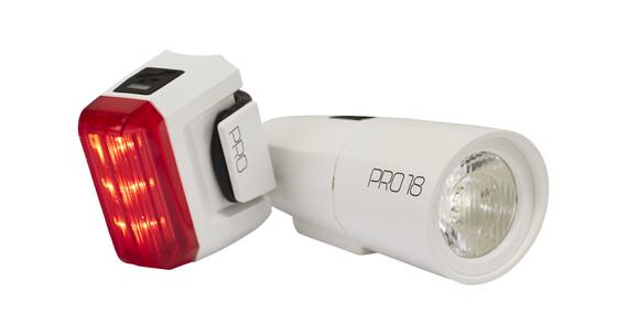 Cube Pro 18 - Set luces a pilas - blanco